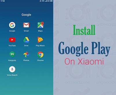 نصب گوگل پلی Google Play بر روی گوشی های شیائومی Xiaomi