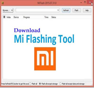 دانلود برنامه Mi Flash