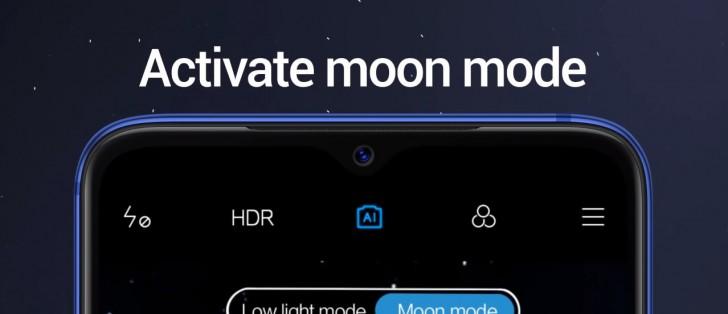 "مود عکاسی ماه ملقب به "" Moon mode"