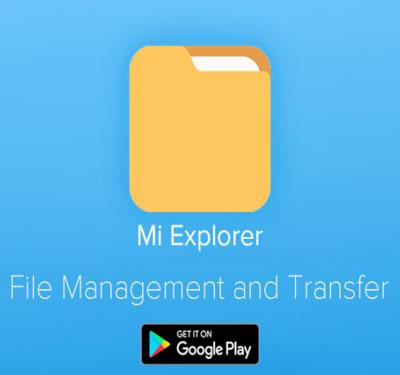 دانلود فایل منیجر شیائومی Mi File Manager