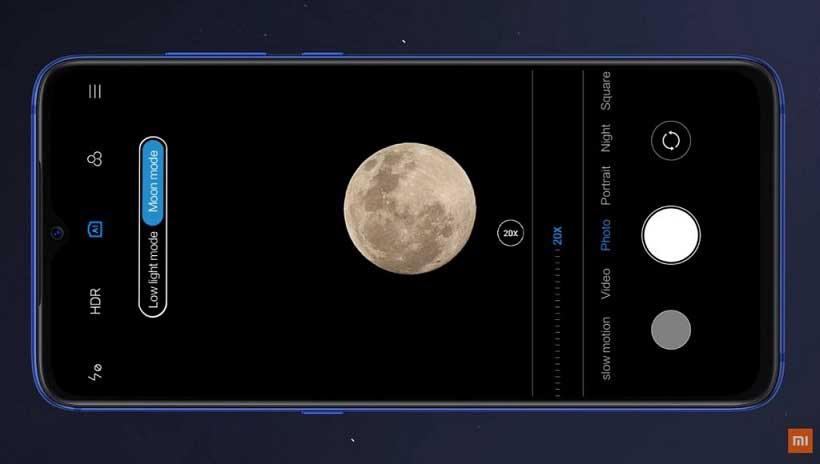 """فعال سازی مود ماه یا """" Moon mode """" در Mi 9 و Mi 9 SE"""