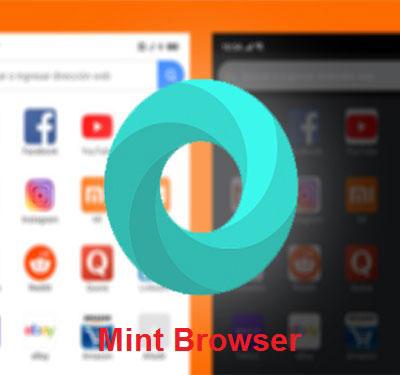 دانلود مرورگر رسمی شیائومی Mint Browser
