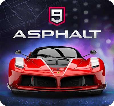 دانلود بازی آسفالت ۹ / Asphalt 9 : Legends اندروید
