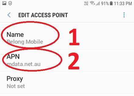 نقاط دسترسی در گوشی های شیائومی