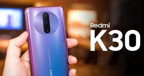 Redmi K30 با تکنولوژی 5G دوبانده و دوربین سلفی دوگانه رونمایی شد