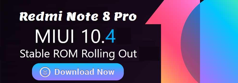 دانلود رام رسمی شیائومی Redmi Note 8 Pro